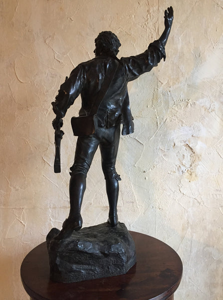 P Choppin, Bronze Revolutionary Figure
