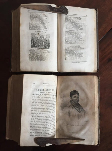 19th Century Illustrated Boxiana Books