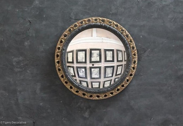 Mid 20th Century Circular Convex Mirror