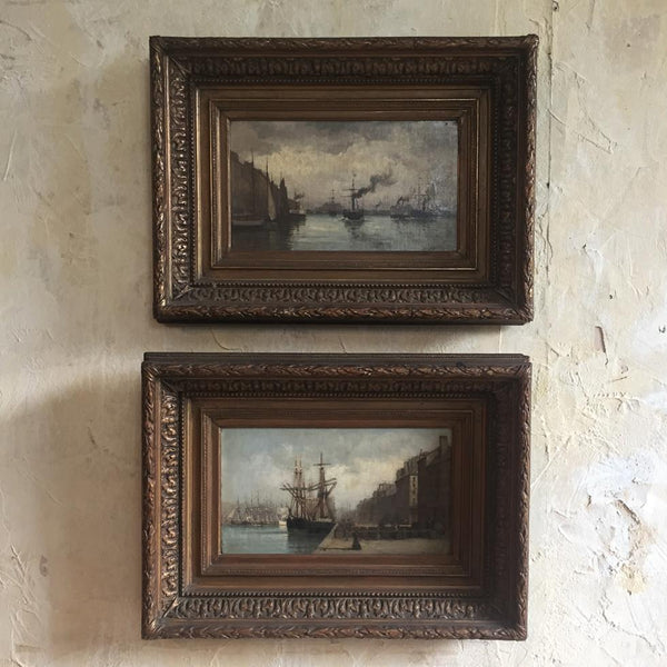 Marine Oil Paintings