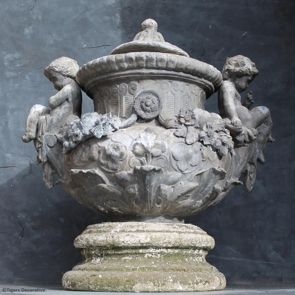 Late 17th Century Lead Urn
