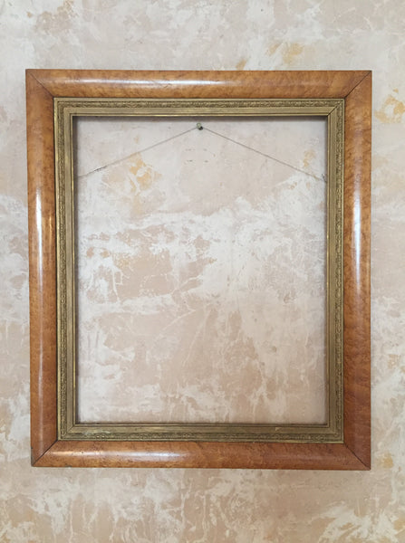 Birds Eye Maple Frame