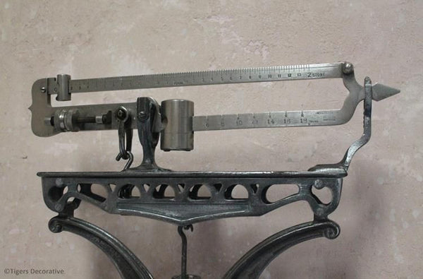 Stand On Fairbanks Weighing Scales