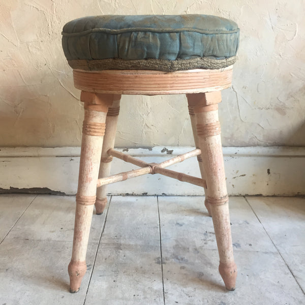 19th Century Painted Stool