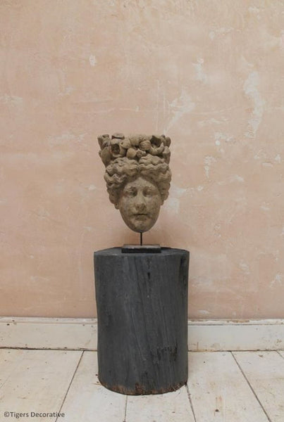 Stone Female Head