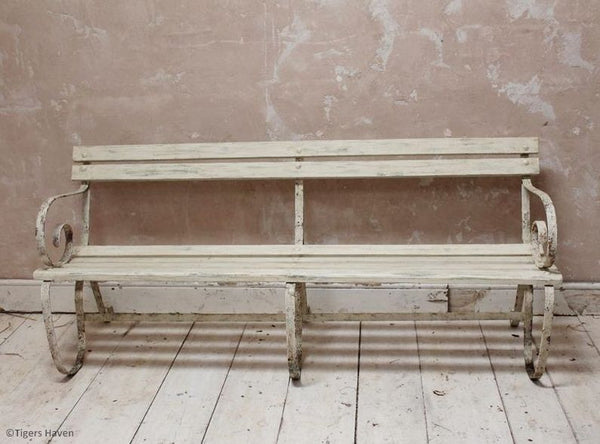 Edwardian Painted Bench