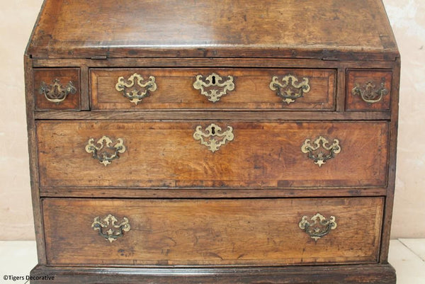 18th Century Oak Bureau