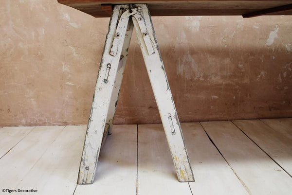 20th Century Painters Trestle Table