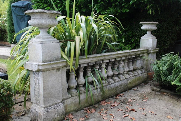 Edwardian Balustrade & Urns