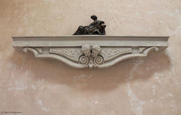 Edwardian Pelmet Shelf