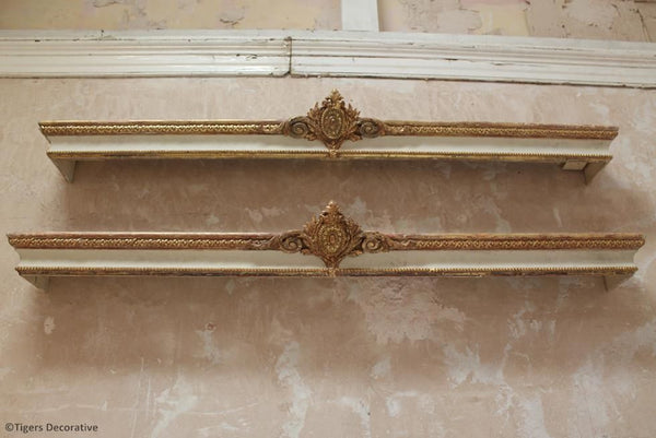 Pair of 19th Century French Pelmets