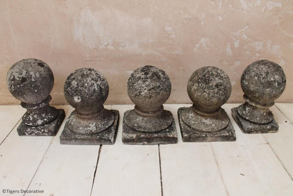 Pair Of Sphere Finials