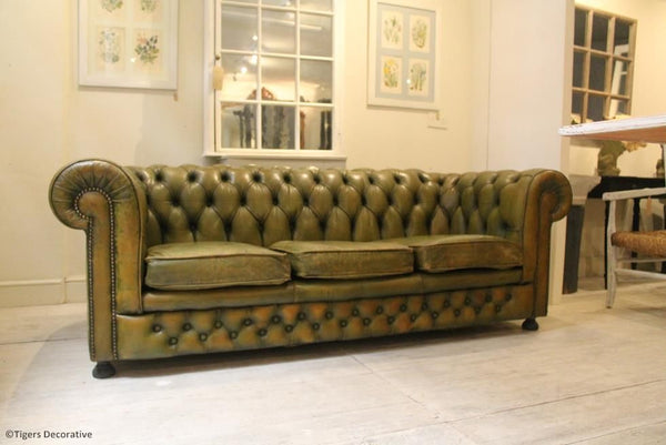 Mid 20th Century Chesterfield Sofa