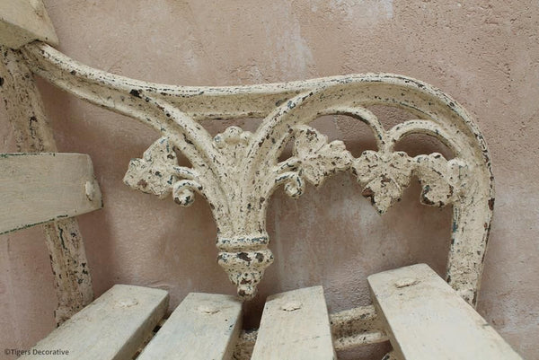 Pair Of Cast Iron Benches
