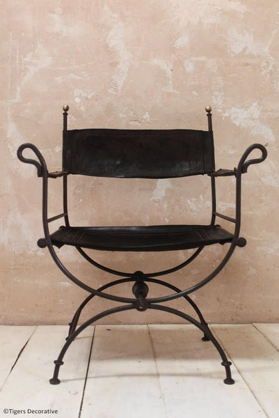 20th Century Savonarola Chair