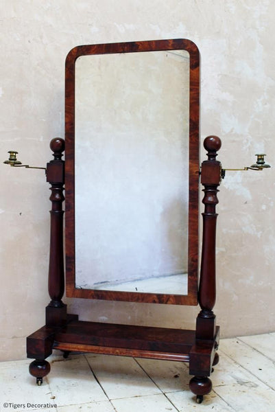 19th Century Cheval Mirror