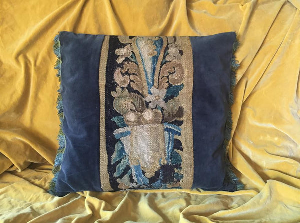 17th Century Tapestry Cushion