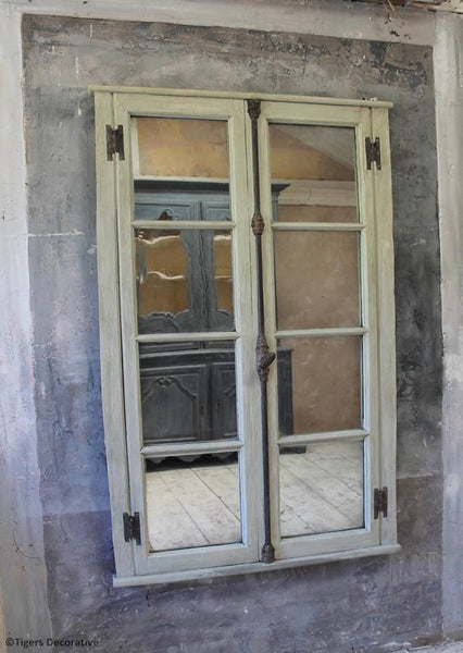French Window Mirror