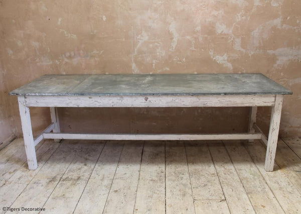 Florists Zinc Top Table