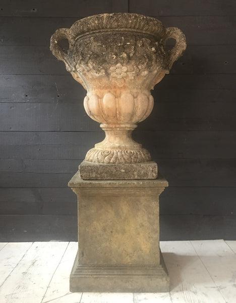 Urn On Plinth