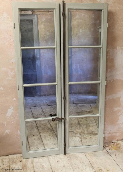 19th Century Mirrored Windows