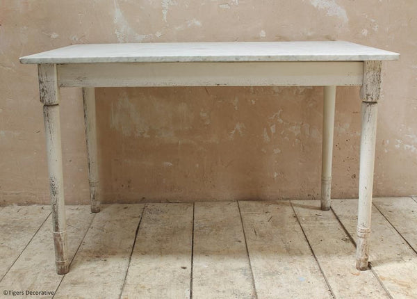 Marble Topped Pastry Table