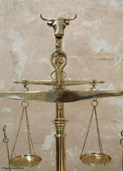 Portuguese Brass Weighing Scales