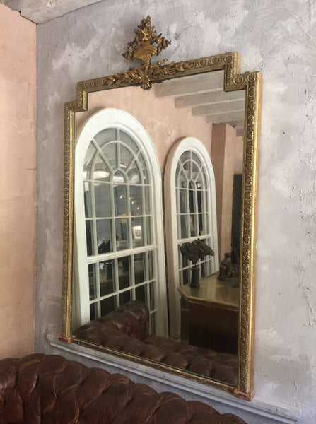 Edwardian Gilt Mirror