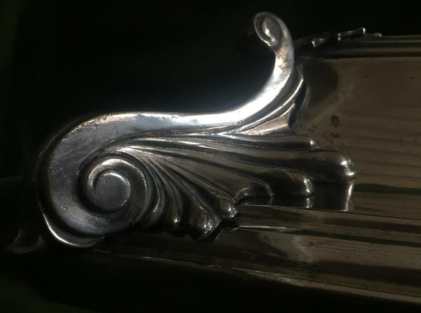 Silver Plated Fender & Scuttle