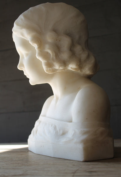 Female Marble Bust