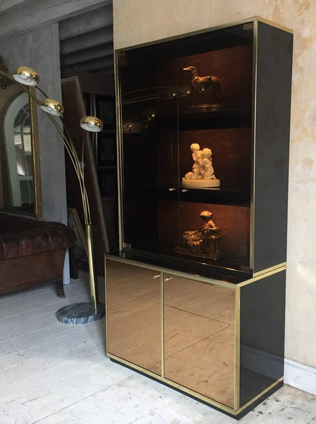 Willy Rizo Style Display Cabinet