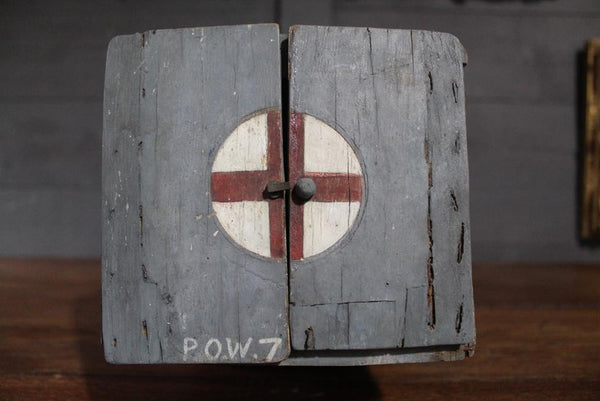 Folk Art POW Money Box