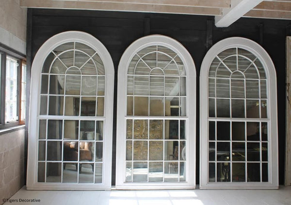 Large Georgian Arched Top Mirrors