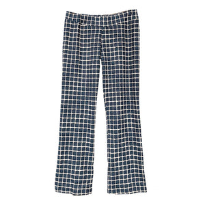 AUDREY Denim Windowpane