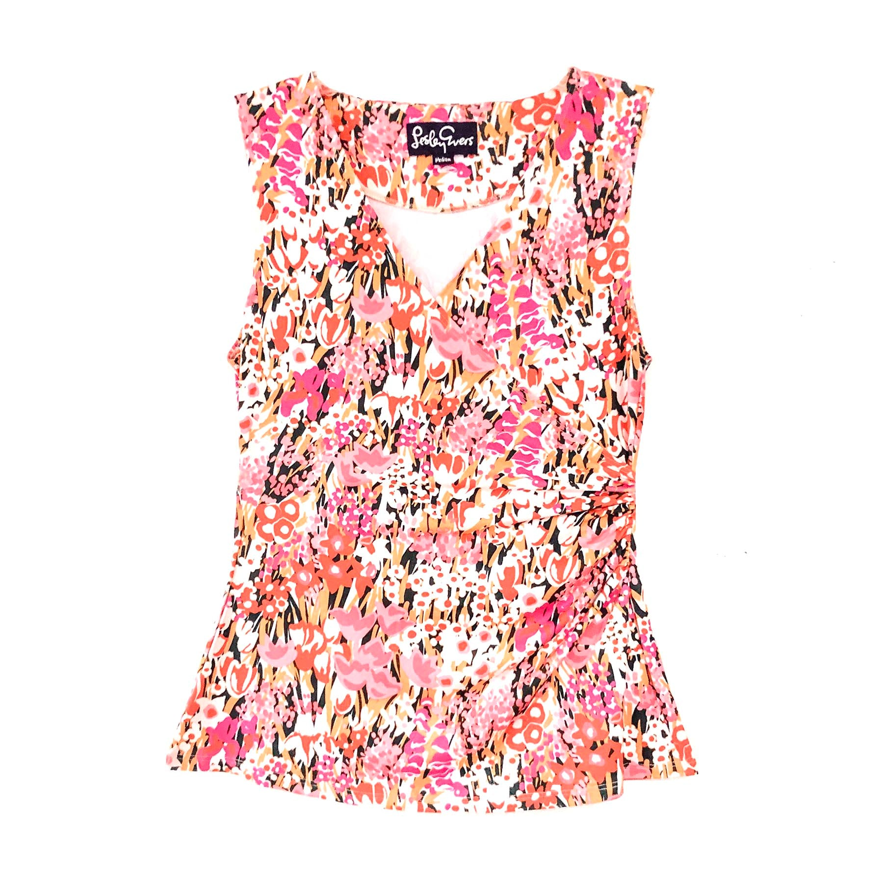 BOBBI top Queen's Garden Pink