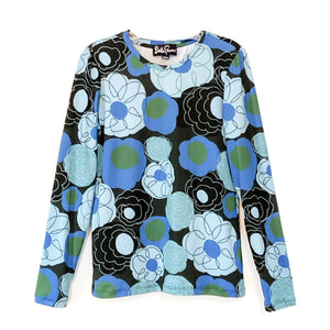 BRIDGET tee Flower Charm Blue