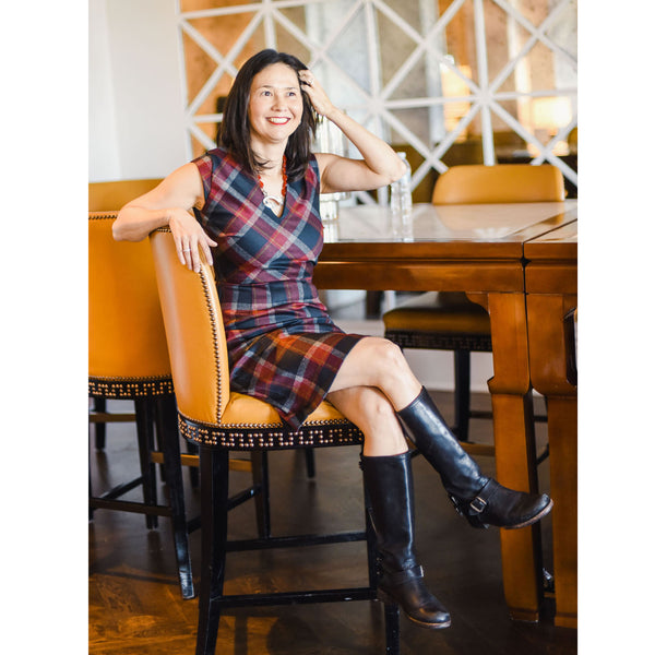 HOLLIE Black and Red Plaid - OneX only