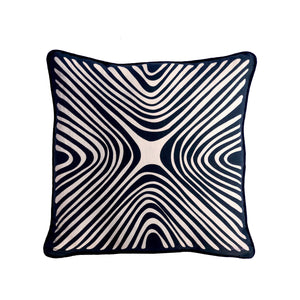 PILLOW sham Black Lines