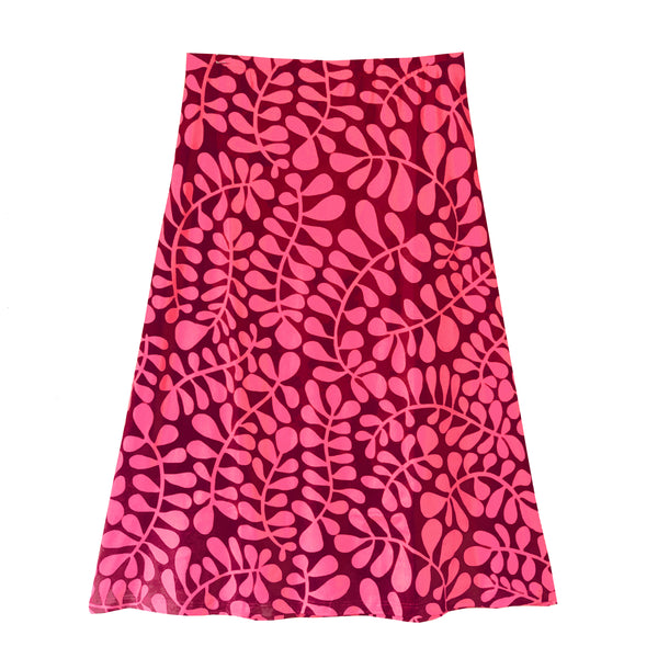 SLOAN skirt Fern Pink/Burgundy