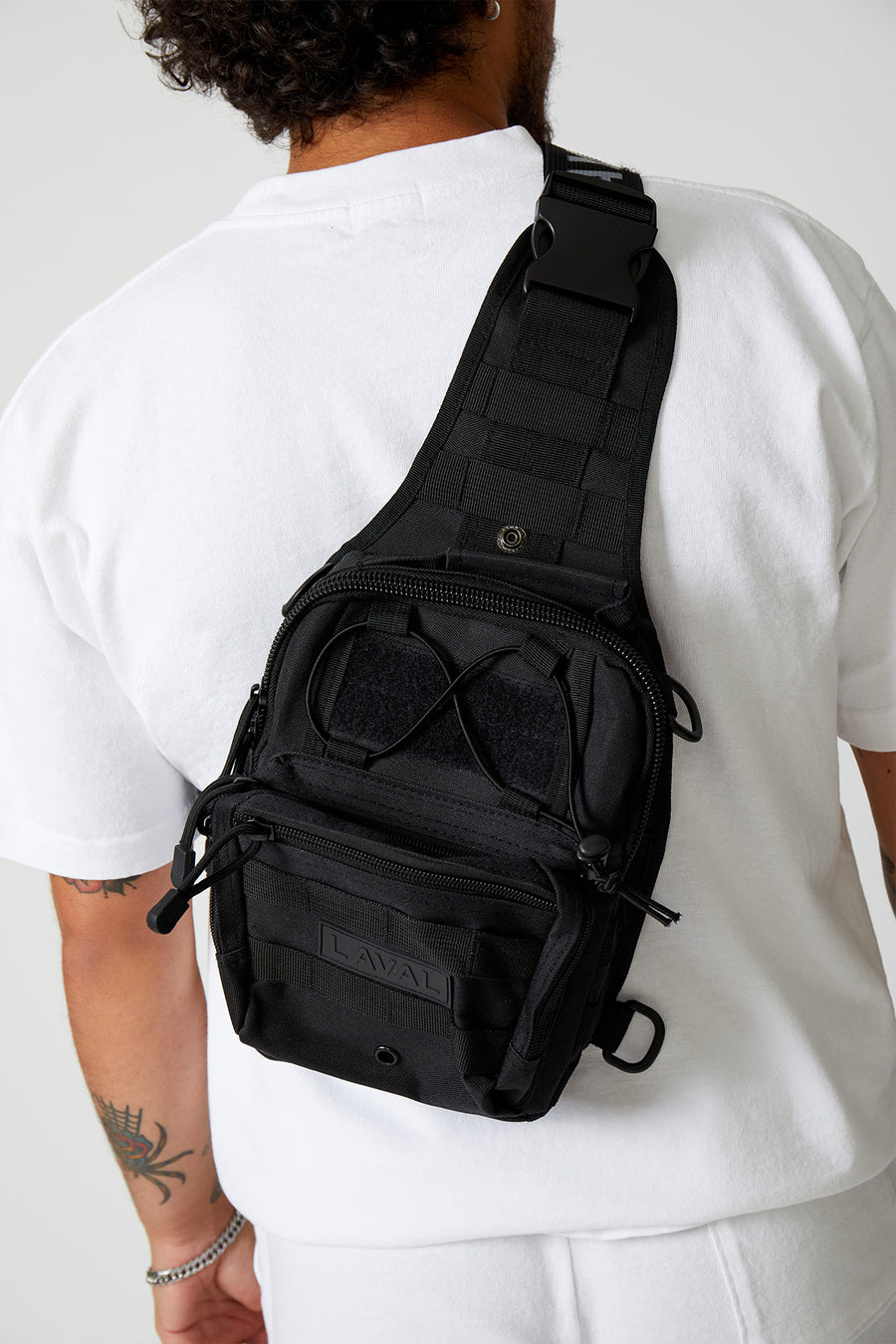 THE CROSS BODY BACKPACK