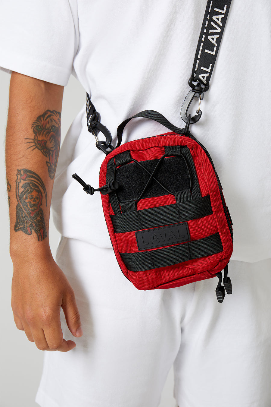 SIDE BAG RED