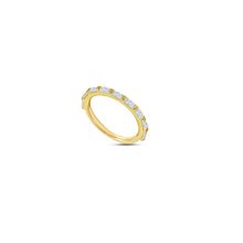 Load image into Gallery viewer, Baguette Stacking Ring