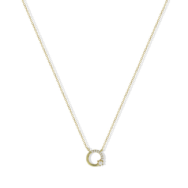 The Perla Infinity Necklace