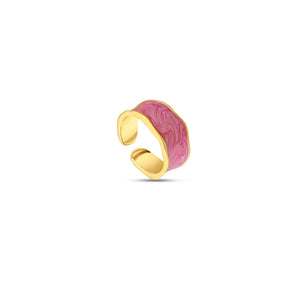 The Iris Enamel Ring