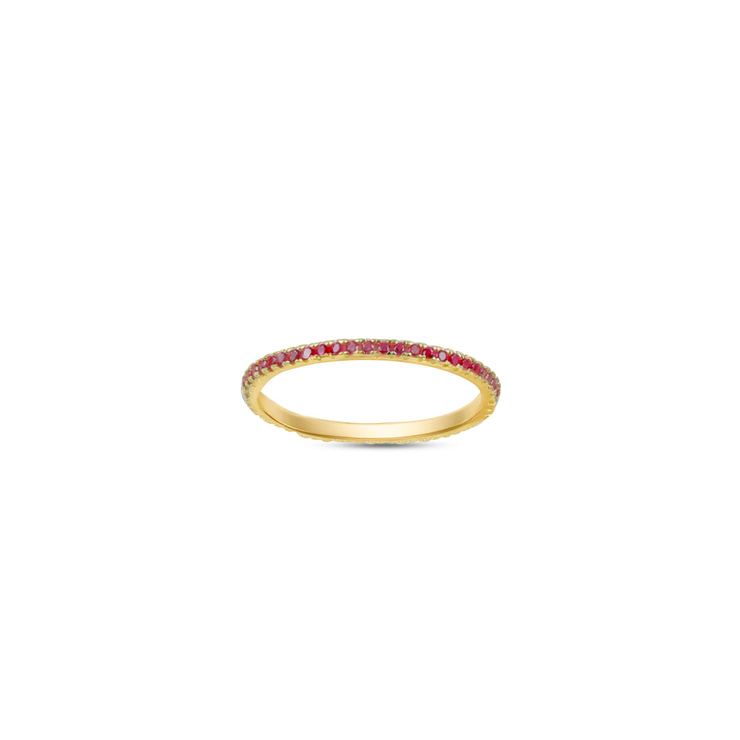 Pink Ella Stacking Ring