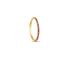 Load image into Gallery viewer, Pink Ella Stacking Ring