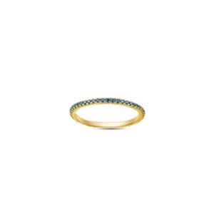 Cobalt Ella Stacking Ring