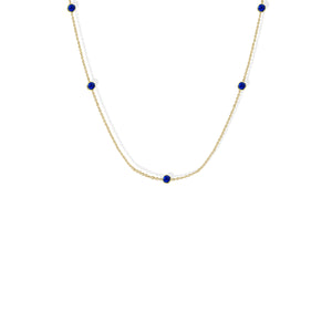 A Moments Birthstone Necklace