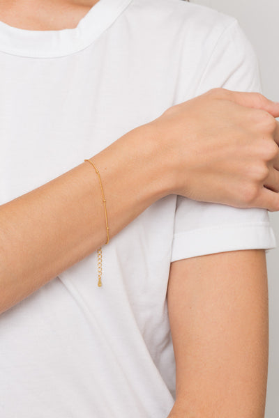 Dainty Ball Chain Bracelet