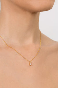 Baguette Layering Necklace